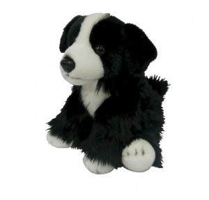 Pluszowy PIES BORDER COLLIE 30cm 84404BD Smily play