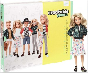 BARBIE CREATABLE WORLD BLOND WŁOSY
